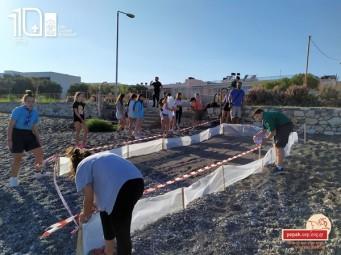 Προστασία Φωλιών Χελώνας Καρέτα-Καρέτα στις παραλίες της Ιεράπετρας